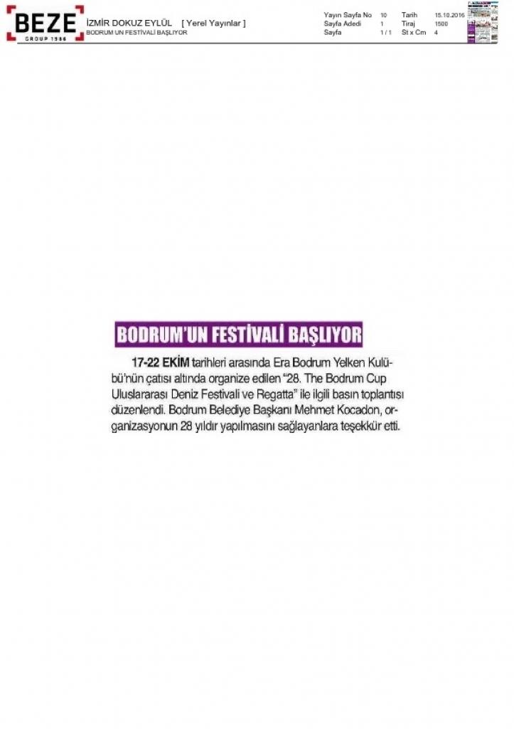 festival baslıyor