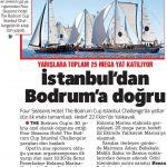 İstanbuldan Bodruma Yarış Başladı