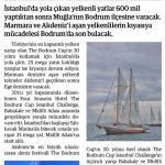 Gazete Milas - Yelkenlilerin Mücadelesi Devam Ediyor