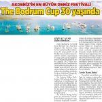 Milliyet Gazetesi - The Bodrum Cup 30 Yaşında